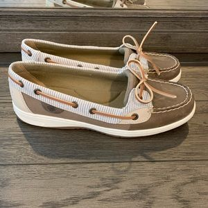 Sperry - Angelfish Stripe Leather Boat Shoe
